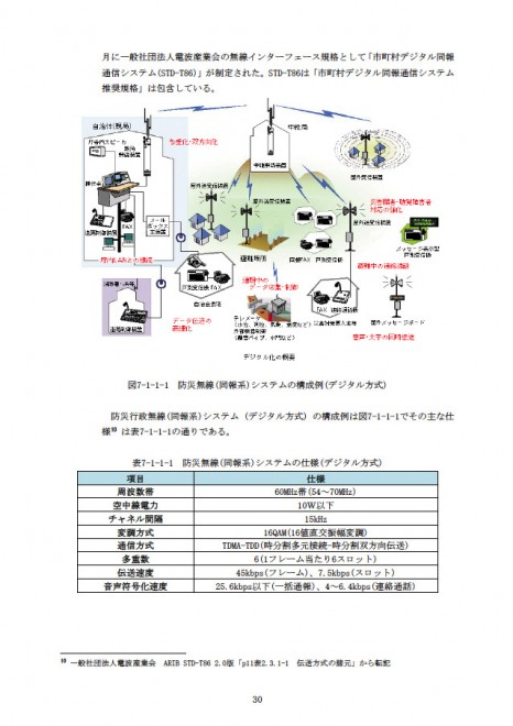 災害情報伝達手段の整備等に関する手引き(消防庁)