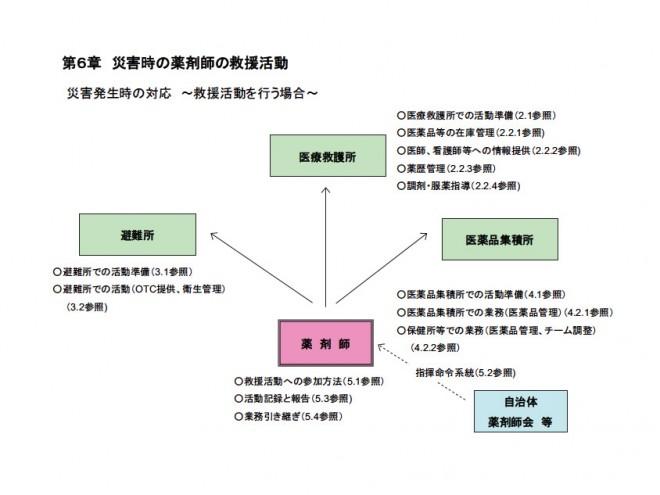 薬剤師のための災害対策マニュアル(日本薬剤師協会)