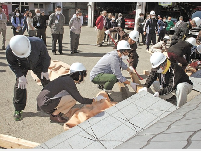 広がれ地域防災リーダー 仙台市が制度創設