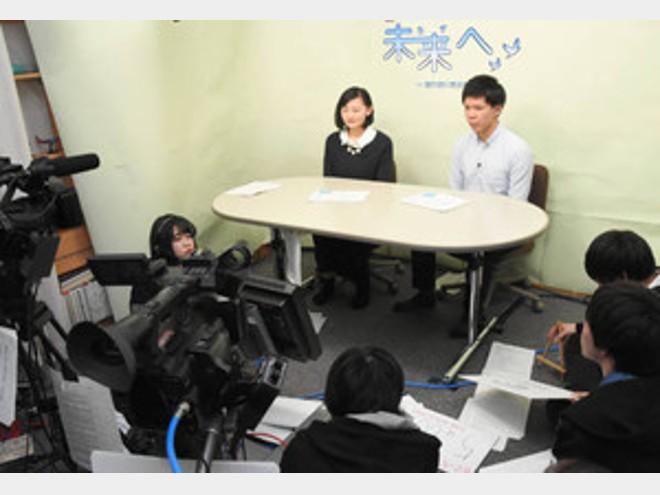 学生の視点で考える「防災」 東海大生が特別番組制作