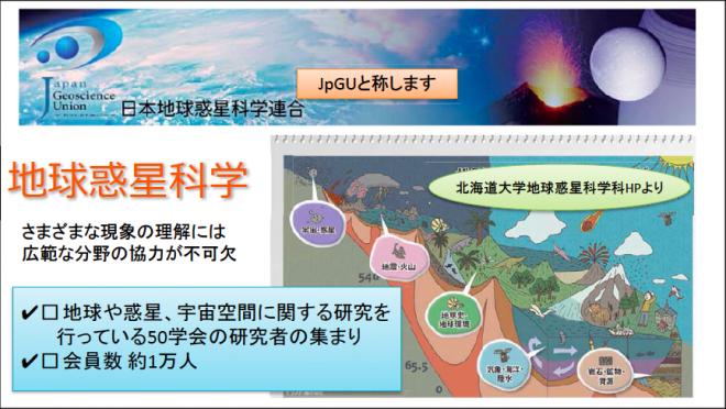 地球惑星科学(2016防災推進国民大会)