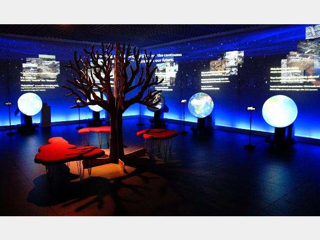 ちきゅうで遊ぼう!「丸の内・触れる地球ミュージアム」