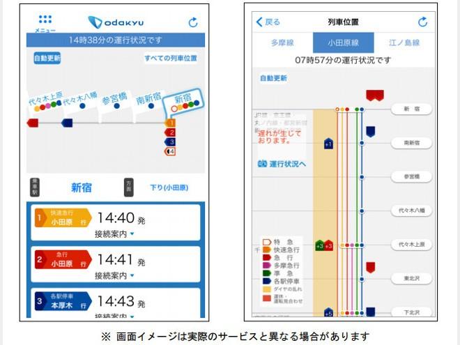 「家族はどこ?」災害時の所在地確認に対応…小田急電鉄の公式アプリ