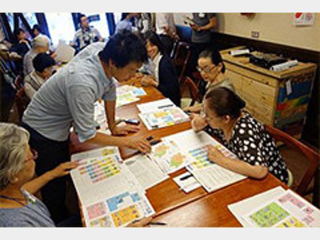 障害者・高齢者の災害時介護の備え 防災手帳キットを使ったワークショップ