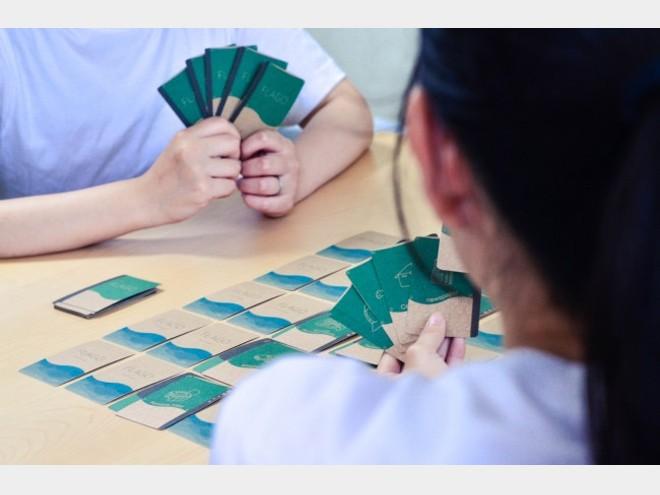 遊びながら津波防災について学べるカードゲーム「FLAGO(ふらご)」