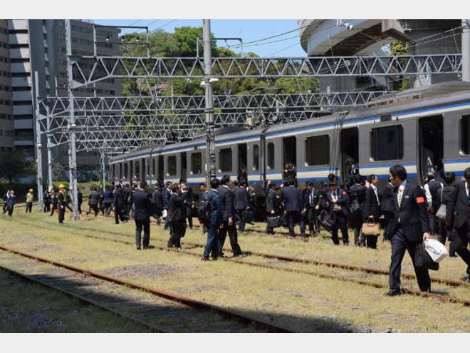 JR東日本横浜支社「津波避難を体験する  団体列車ツアー」