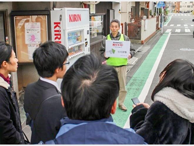 川崎市 津波避難路の「行き止まり」を、スマホを使って避ける実験